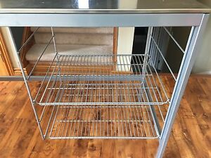Metal kitchen stand/table