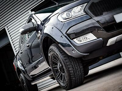 Fender Flares Black ABS Wide Body Wheel Arches Set for Ford Ranger (2015 on)