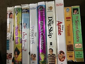KIDS MOVIES VHS DISNEY - Pickering