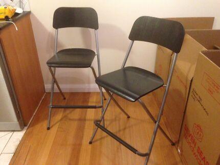 Tall bar stool/chairs ikea