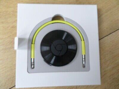 Google Chromecast Audio (2nd Generation) Media Streamer Used mint condition