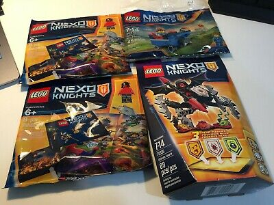 LEGO Nexo Knights Ultimate Lavaria 70335 30372 5004388 SEALED RETIRED LOT