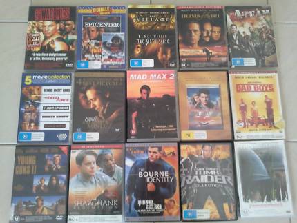 Dvds. All in pictures plus more for 50