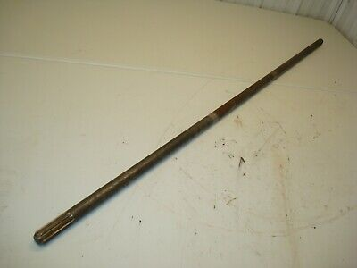 1963 Case 831 Tractor Pto Drive Shaft 830