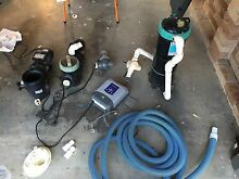 Pool chlorinator and pumps with equipment Cooranbong Lake Macquarie Area Preview