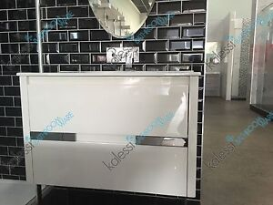 Kalessi Bathroom Ware 900mm Wall Hung Vanity with Draws Springvale Greater Dandenong Preview