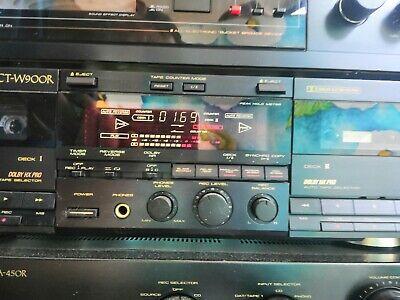 Deck Cassette Doppia Piastra Pioneer CT-W900R, usado segunda mano  Embacar hacia Mexico