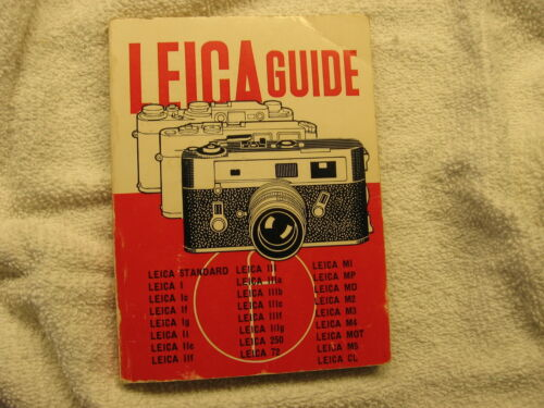 LEICA GUIDE (FREE SHIPPING)*********