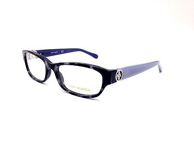 $420 TORY BURCH BLUE EYEGLASSES FRAME GLASSES OPTICAL EYE LENS BIFOCAL CASE 17