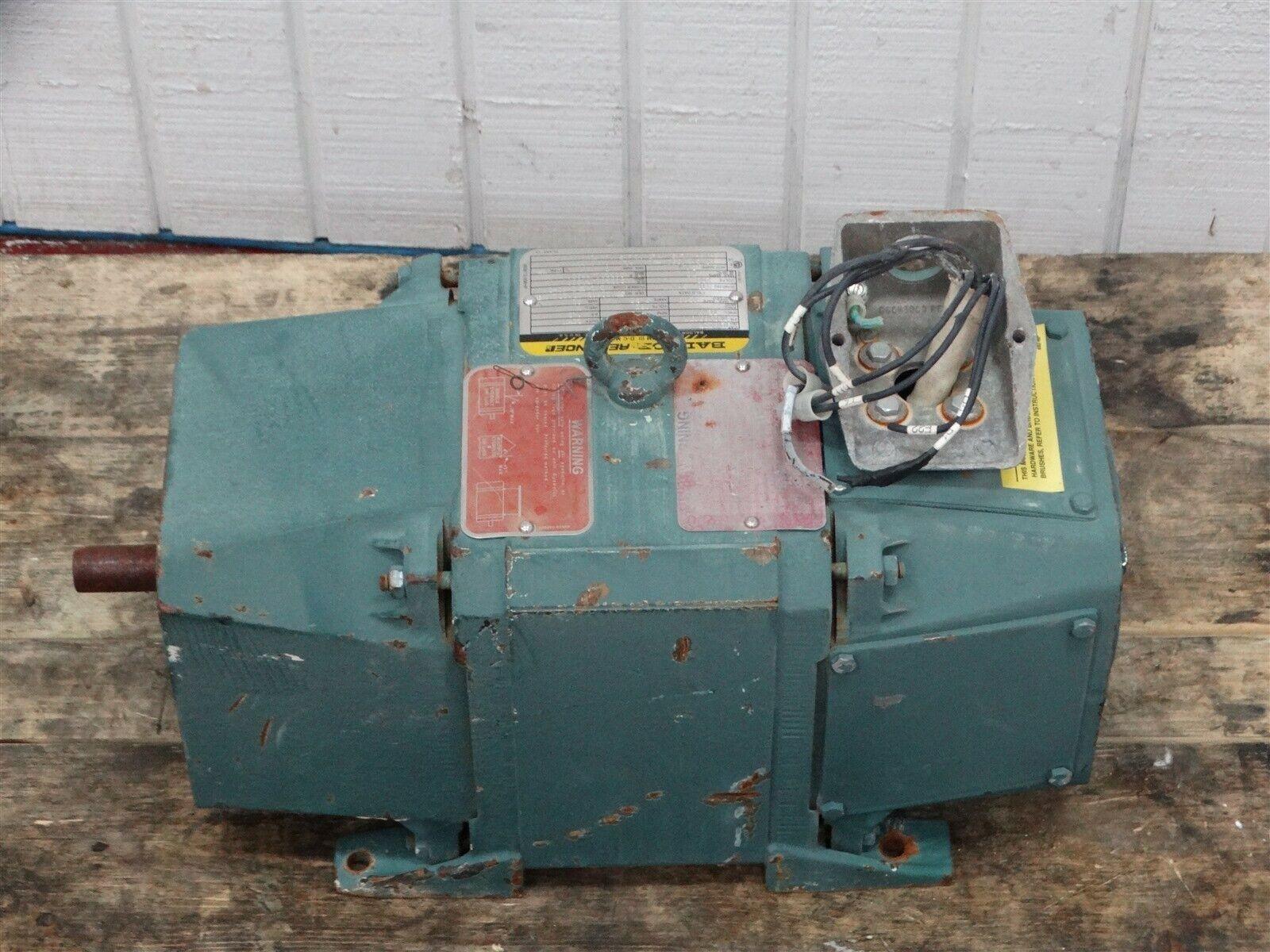 """Baldor D1802R RPM III D-C Motor 2HP 1750RPM 180V 9.5A Shaft: 3/4"""""""