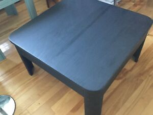 Black coffee table- available