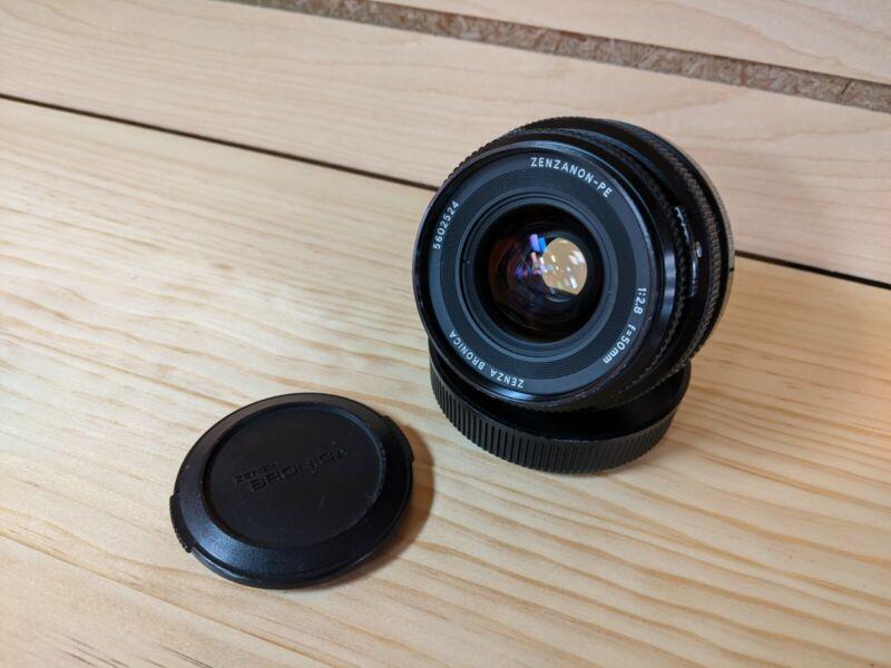 Zenza Bronica Zenzanon PE 50mm f/2.8 Lens for ETR S SI