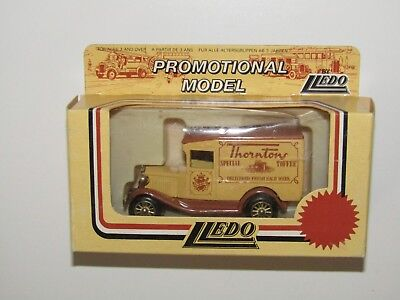 Lledo Promotional Model A Ford Delivery Van - Thorntons Special Toffee /L124