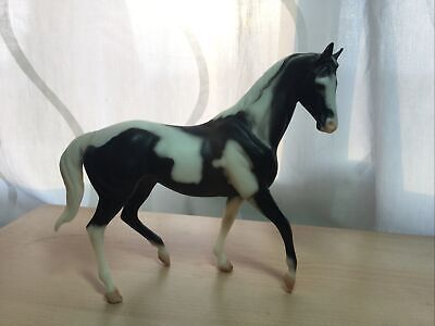 Breyer Black Jack Classic B Ranch Series Black White Pinto #263 Kelso Mold #601