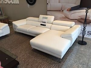 Nick Scali Brand New Lounge Suite 3 seater + 3 seater with chaise Toorak Stonnington Area Preview