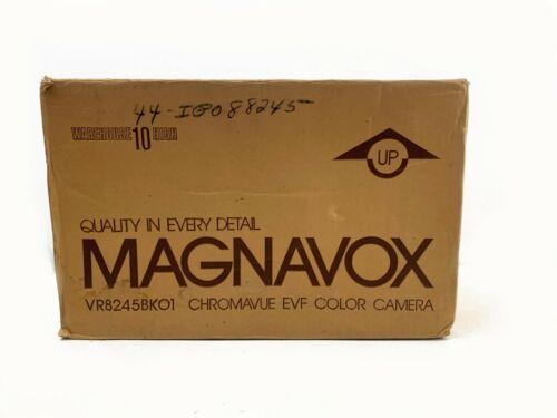 Magnavox VR8245BK01 Vintage Chromavue EVF Color Camcorder Box Tested & Works