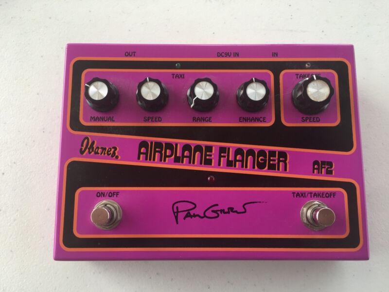 Ibanez AF-2 Paul Gilbert Airplane Analog Flanger Rare Guitar Effect Pedal