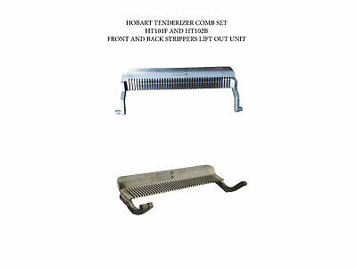 Tenderizer Stripper Comb Set Front And Back Fits Hobart 400 401 403 Ships Free