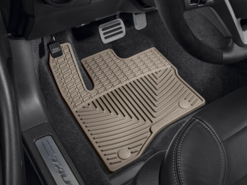 WeatherTech All-Weather Floor Mats for Ford Taurus 2010 1st 2nd Row Tan