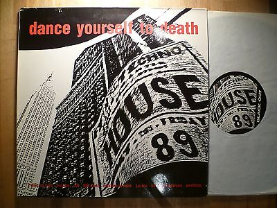 DLP, Dance Yourself To Death,808 State, Westbam, Kevin Saunderson, BRD 1989