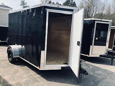 2020 6x10 Vision Series Enclosed Cargo Trailer 2018 Contact 919-661-1045