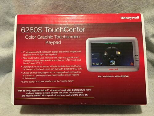Honeywell / Vista 6280S Color Display Graphic Touchscreen Keypad (Silver)