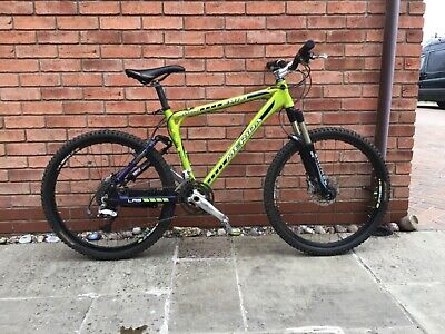 Full suspension mountain bike merida