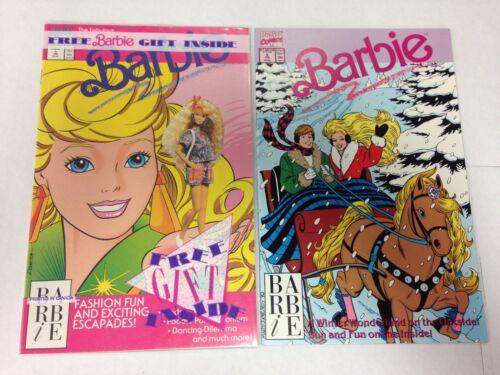 Barbie #1 January 1991 #2 February 1991 Barbie Fashion #1
