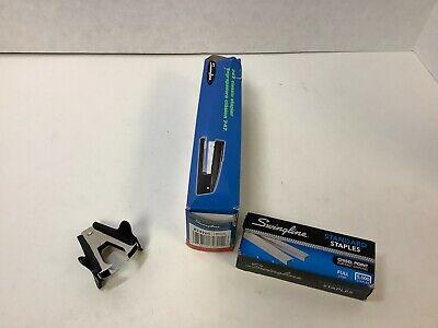 Swingline Desktop Stapler 20 Sheet Cap Black 74701 Staples Staple Remover