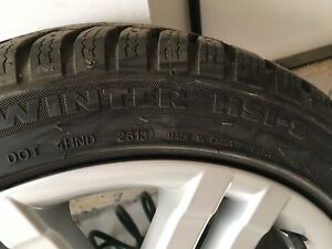 Mercedes winter tires and rims 225/45/R17