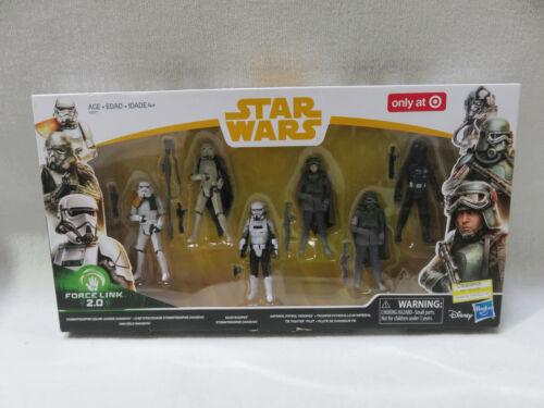 STAR WARS Force Link 6-Pack Figures Trooper - Target EXCLUSIVE Hasbro NIB!
