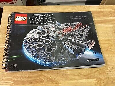LEGO Star Wars Millennium Falcon UCS set 75192 Instruction Manual ONLY
