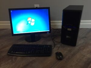 I5 - 3470, 500 GB desktop and monitor,