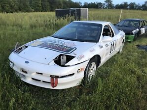 Race car (Ford Probe) w/ spares