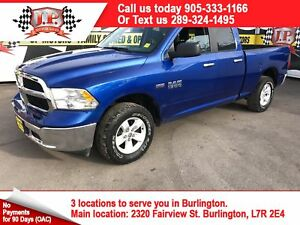 2016 Ram 1500 SLT, Quad Cab, Steering Wheel Controls, 4x4