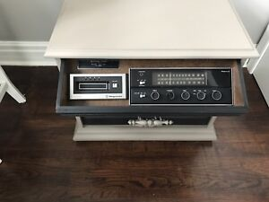 Man cave Magnavox eight track stereo