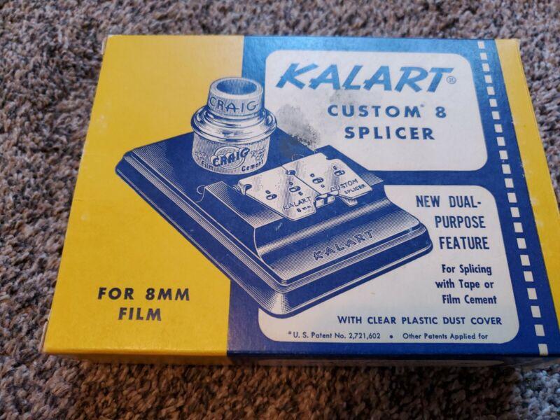Vintage Kalart Custom 8-Splicer S-4 (8MM Film) Made in U.S.A.