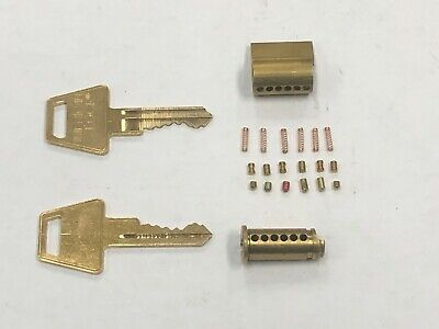 American Lock Padlock Cylinder Replacement Aptkb2 Six Pin Keys And Cylinder