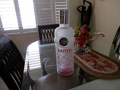 Giant Romero Britto woman (Rare) Big Dummy  factice perfume bottle