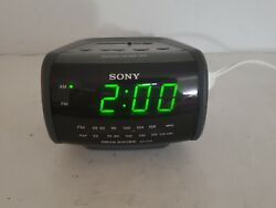 Sony ICF-C112 Dream Machine Vintage Alarm Clock AM/FM Radio Electronic