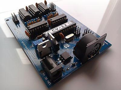 KIT : MIDI to CV Converter 12 Channel Moog system Analogue Volts / Oct Midimuso