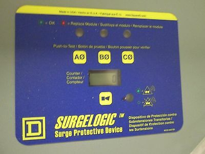 Square D Transient Voltage Surge Suppressor Tvs2ema12ac 120 Ka 208120 V 3 Ph