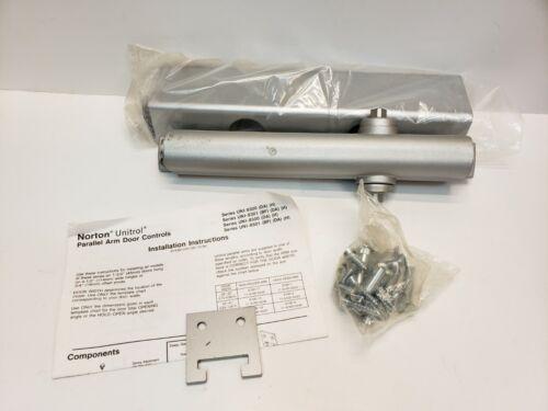 New Norton UNI8503 Commercial Door Closer Body & Covert Aluminum Finish