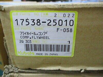 17538-25010 Genuine Oem Kubota Comp Flywheel