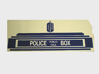 Doctor Who Tardis above Door Decal, Sticker, Kids Room Wall Decor - 32