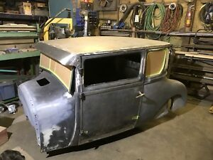Classic car welding and fabrication