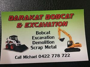 Bobcat and excavation Glenroy Moreland Area Preview