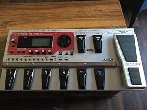 Boss GT10B Bass Effects Processor Compressor