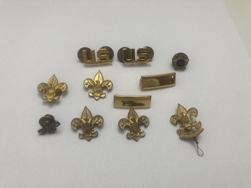 Vintage BSA Boy Scouts Be Prepared Pin Lot