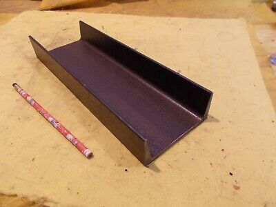 Steel Channel A-36 Welding Shop Stock Fab 5.2 Lbs Per Foot 1 58 X 4 X 12